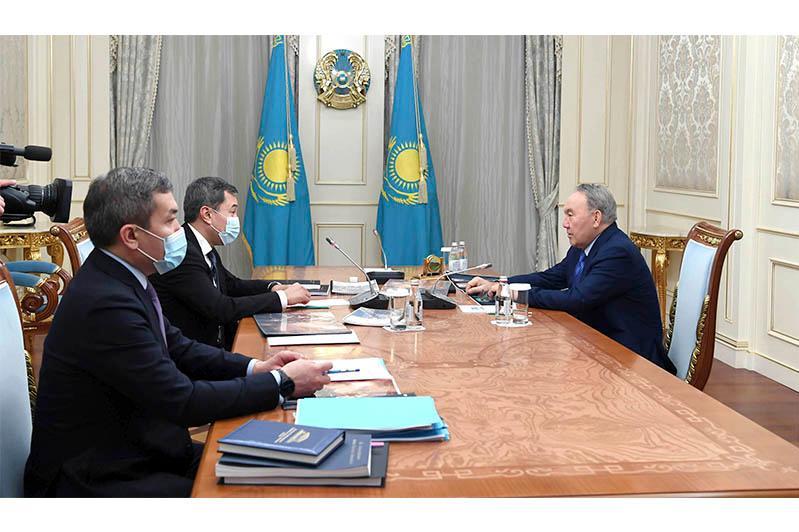 Елбасы принял президента АО «Казахфильм» имени Ш.Айманова Акана Сатаева