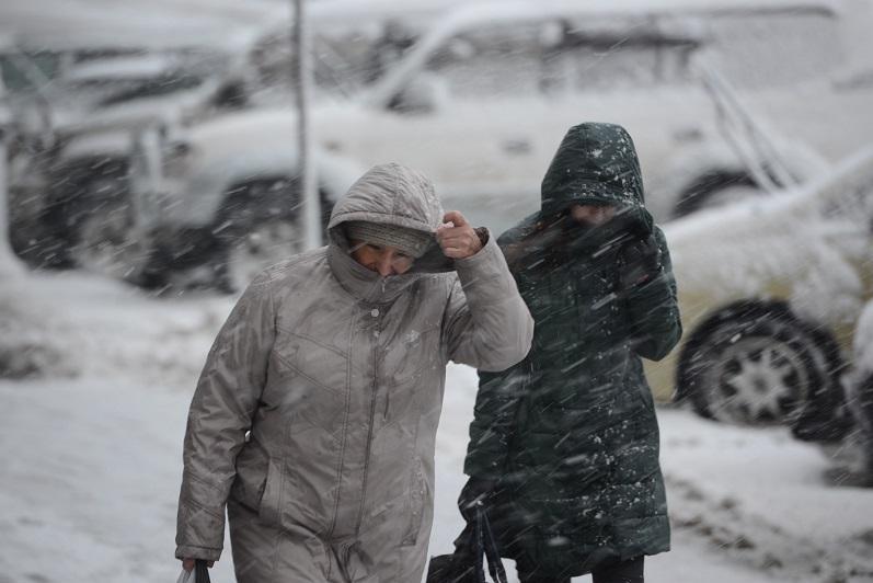 Штормовой ветер бушует в Северо-Казахстанской области