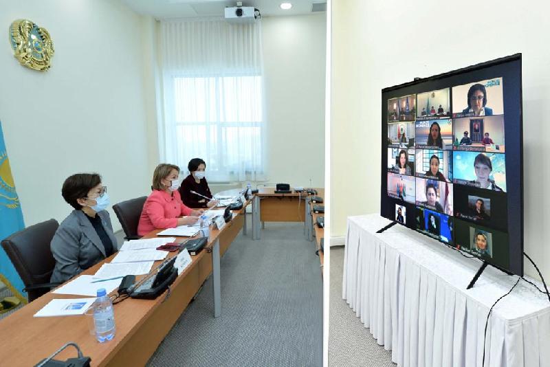 Мәжіліс депутаттары Орталық Азиядағы көшбасшы әйелдер диалогының консультацияларына қатысты