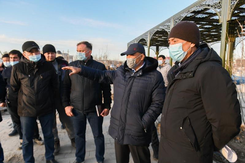 Түркістан қаласында Бекзат Саттарханов атындағы спорт кешені салынады