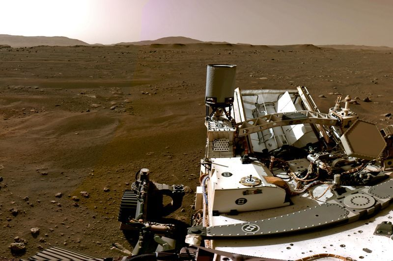 NASA reveals video, audio recordings from Perseverance rover on Mars