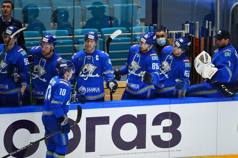 Хоккей: «Барыс» овертаймда «Ак Барстан» жеңілді