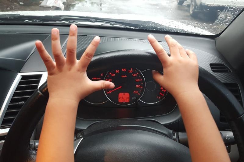 Десятилетний мальчик управлял машиной в Павлодаре