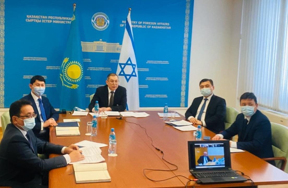 哈萨克斯坦和以色列有意加强长期伙伴关系
