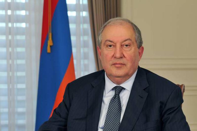 Армения президенті елде қалыптасқан жағдайға байланысты халыққа үндеу жариялады