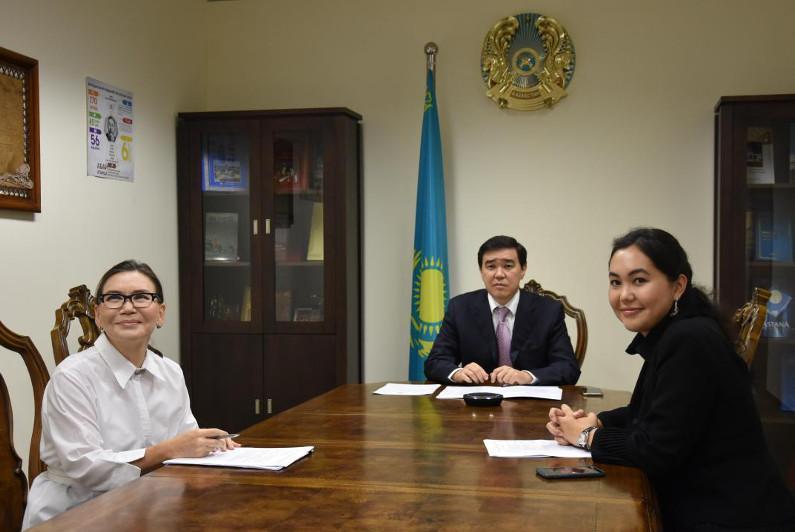哈萨克斯坦驻新西兰名誉领事馆开业