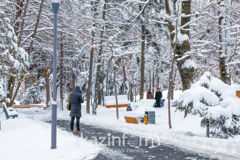 Потепление и осадки ожидаются на выходные в Казахстане