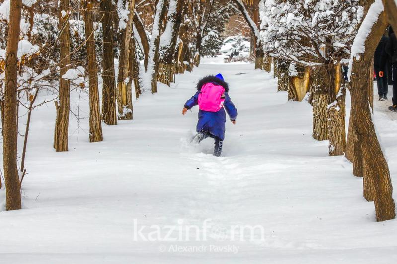 Astanada ekinshi aýysymdaǵy oqýshylar mektepke barmaıdy