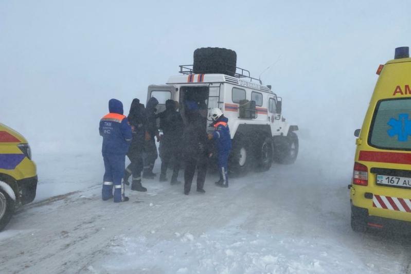 79 человек спасли за сутки на автодорогах Карагандинской области
