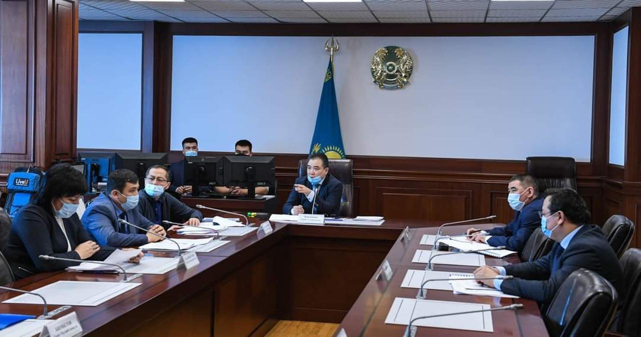 哈萨克斯坦生态部副部长对克孜勒奥尔达州进行工作视察