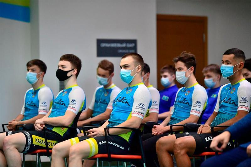 Велокоманду Nursultan Cycling Team презентовали в столице
