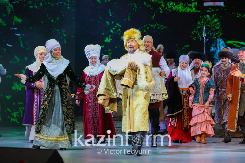 Состоялась официальная церемония начала празднования 175-летия Жамбыла Жабаева