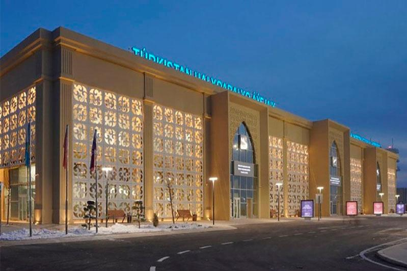Первые международные рейсы планируют осуществить из аэропорта Туркестана