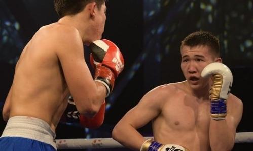 20-летний казахстанский нокаутер одержал победу в третьем раунде