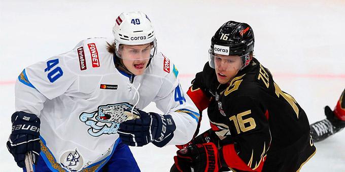Хоккей: «Барыс» соңғы турда «Авангардқа» есе жіберді
