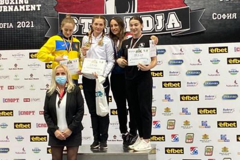 Kazakh female boxers win gold and silver medals in Bulgaria