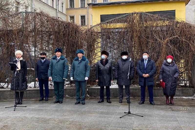 В Санкт-Петербурге отметили 175-летие Жамбыла