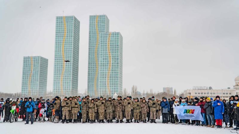 Ежегодный зимний фестиваль «Бұрқасын-2021» состоялся в Нур-Султане