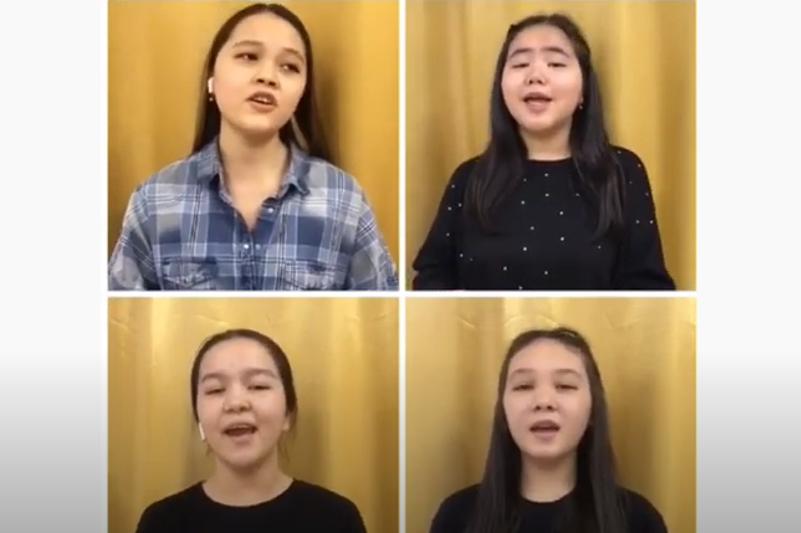 Ученики алматинского Дворца школьников организовали онлайн-концерт в честь Дня благодарности