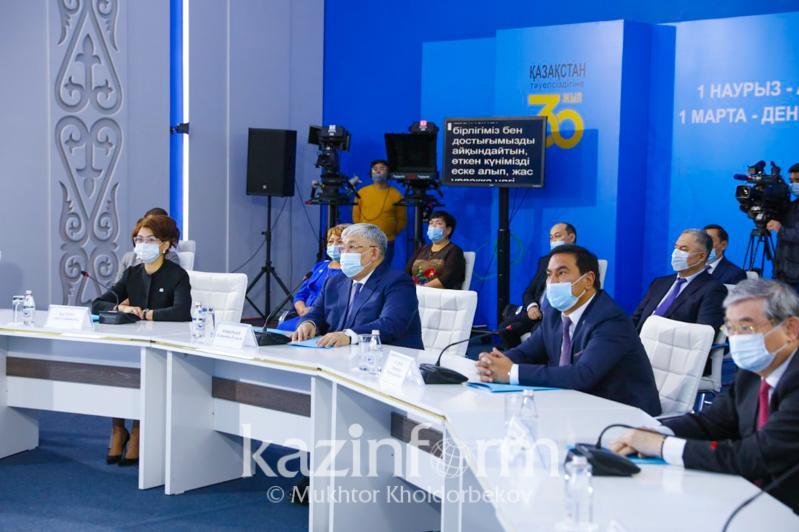 Qazaqstan halqy Assambleıasy «Biz birgemiz» aktsııasynda 2 mlrd teńgege jýyq járdem kórsetken