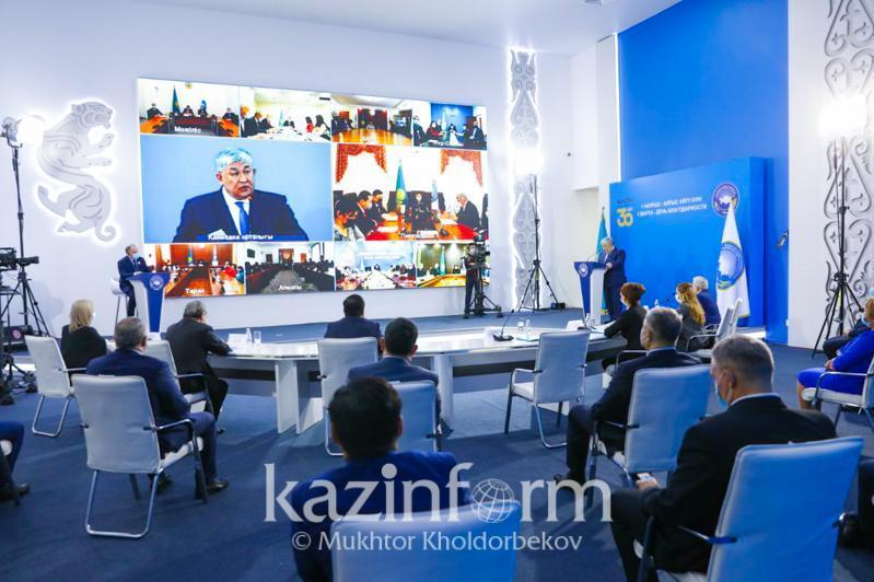 Roundtable dated to 30th anniversary of Independence of Kazakhstan held