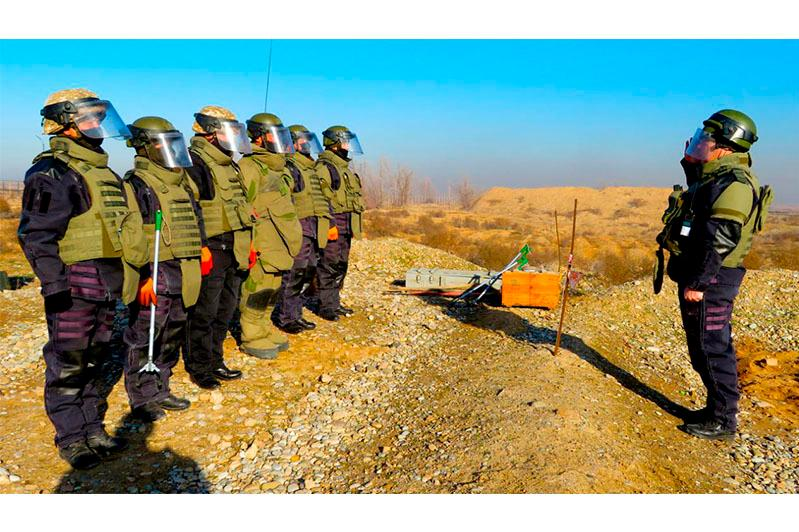С 1 марта возобновлены работы по утилизации боеприпасов в Арыси