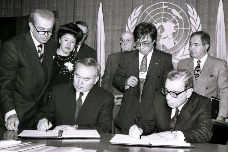29年前的今天,哈萨克斯坦正式加入联合国