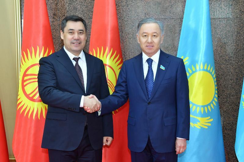 Нұрлан Нығматулин Қырғыз Президентімен кездесті
