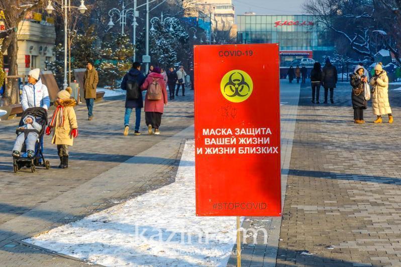 Коронавирус: Қозоғистоннинг 2 та шаҳри ва 5 та вилояти «сариқ зона»да