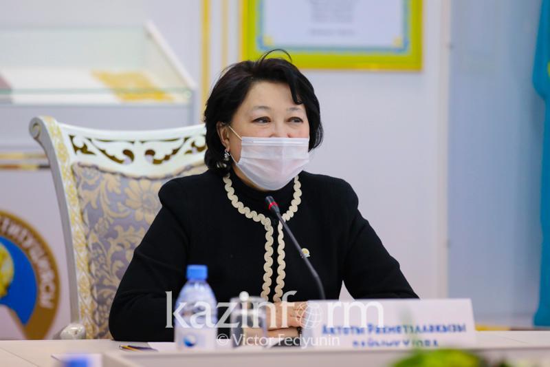 Актоты Раимкулова: Объявление Года поддержки детского и юношеского чтения - необходимая инициатива