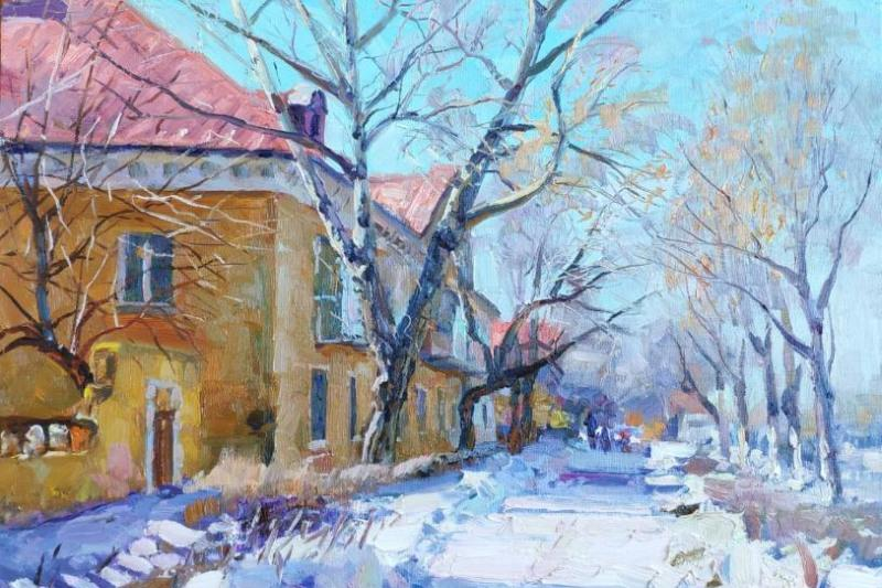 Выставка художника Владимира Проценко откроется в Караганде