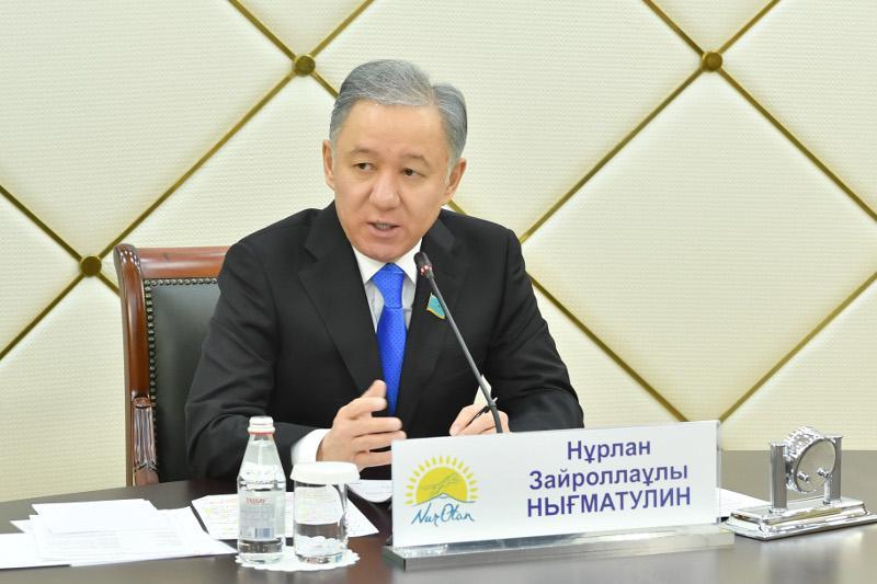 Нурлан Нигматулин: Межпартийный Совет позволит повысить качество законотворческой работы