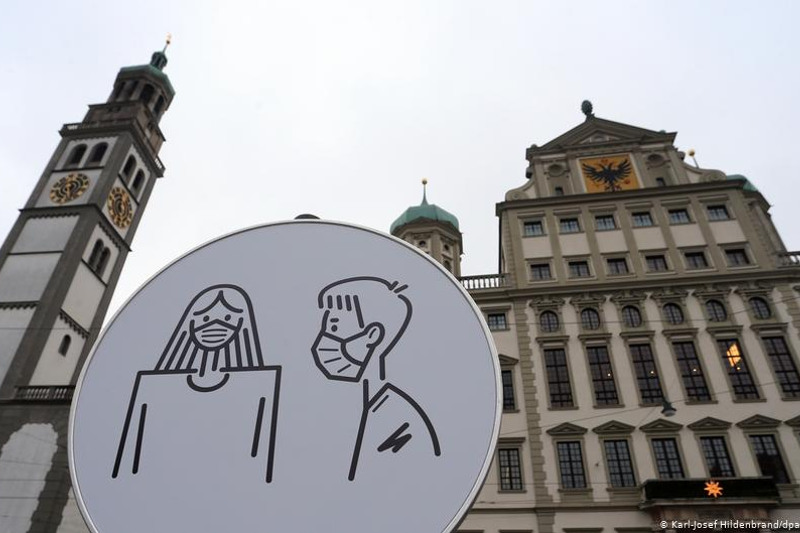 Германияда локдаун 28 наурызға дейін ұзартылды
