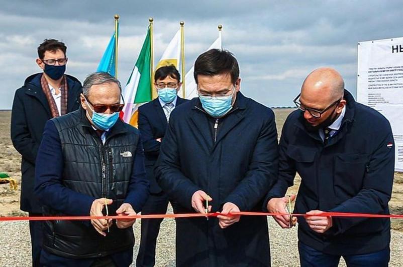 Italy's Eni begins construction of solar power station in Turkestan region