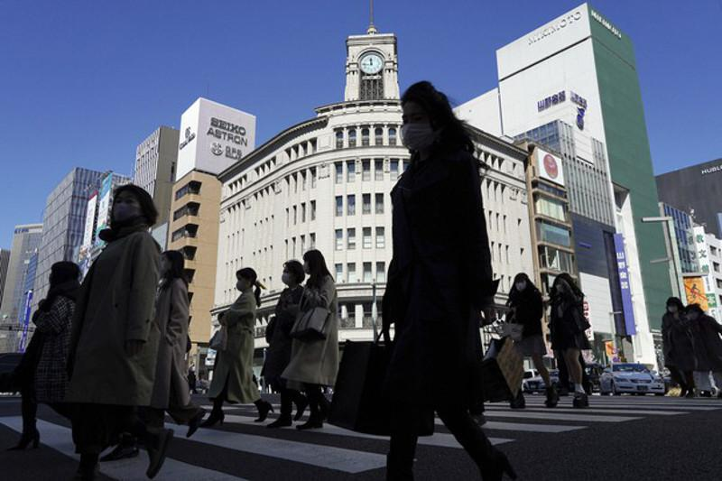 Japan's Feb. consumer confidence jumps despite virus emergency