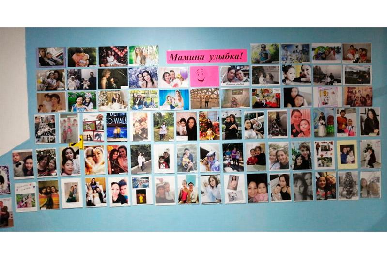 В столичных школах организовали онлайн-выставку «Улыбка мамы»