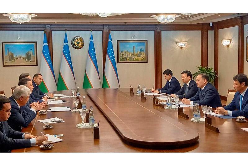 Вице-премьеры Казахстана и Узбекистана обсудили совместные меры по предотвращению распространения COVID-19