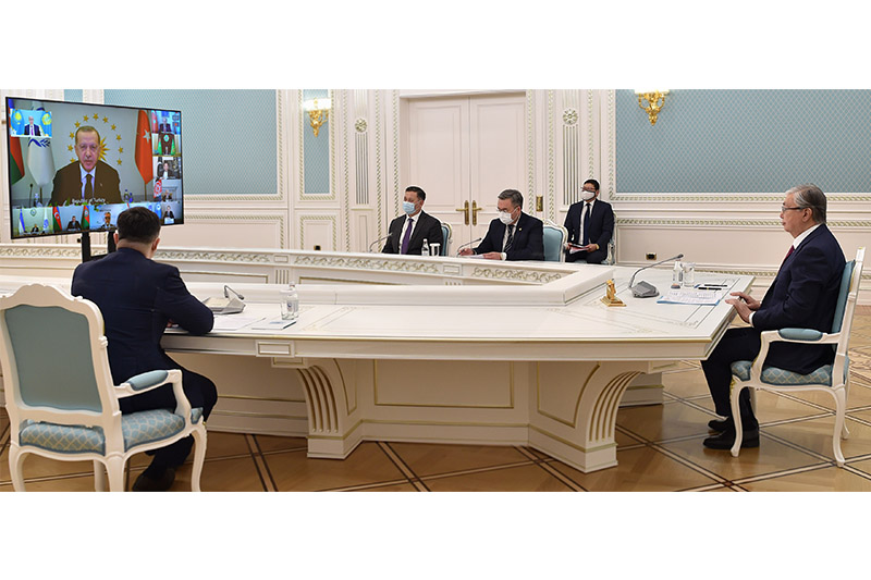 Kazakh President attends 14thSummit of the Economic Cooperation Organization
