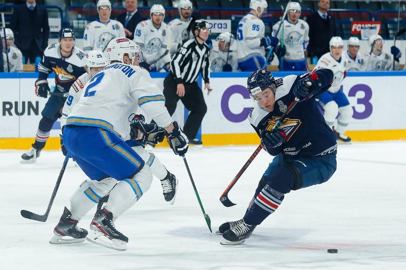 Хоккей: «Барыс» овертаймда «Металлургтан» басым түсті