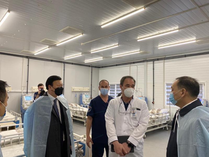Коронавирус: Алексей Цой қазақстандық вакцинаны Өзбекстанда шығаруды ұсынды