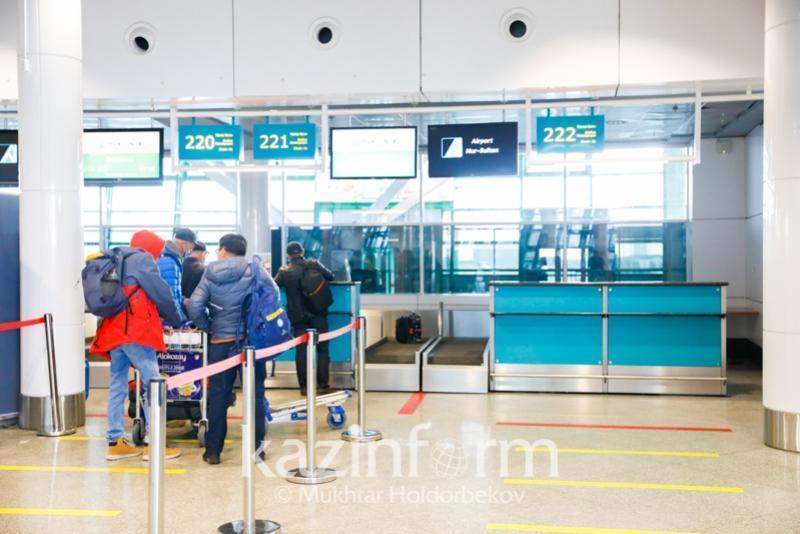 У 2 108 прибывших в Казахстан авиапассажиров были справки с отрицательным ПЦР