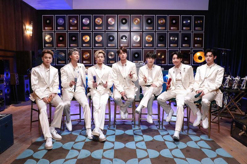 BTS тобының әншілері 2020 жылдың үздік әртістері атанды