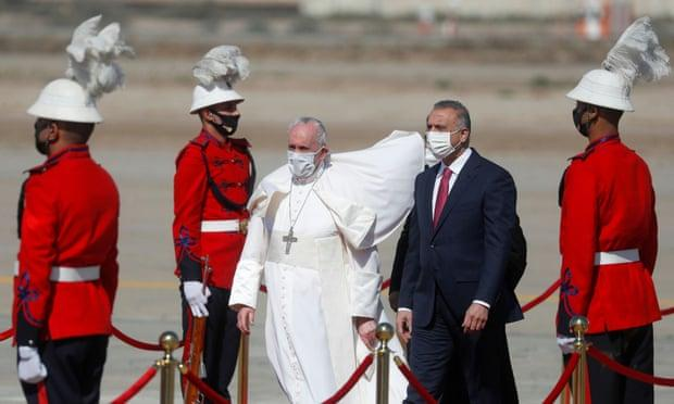 Папа Римский Франциск прилетел в Ирак