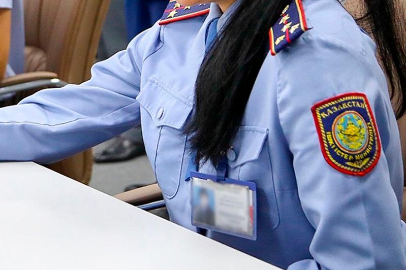 Алматыда полициясы қатарында 1 мыңнан астам әйел бар