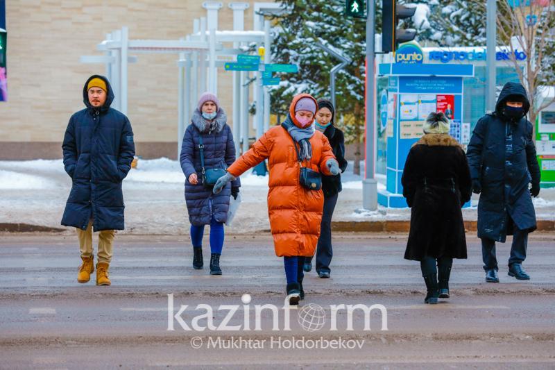 Нур-Султан, Алматы и еще четыре области - в «желтой» зоне по коронавирусу