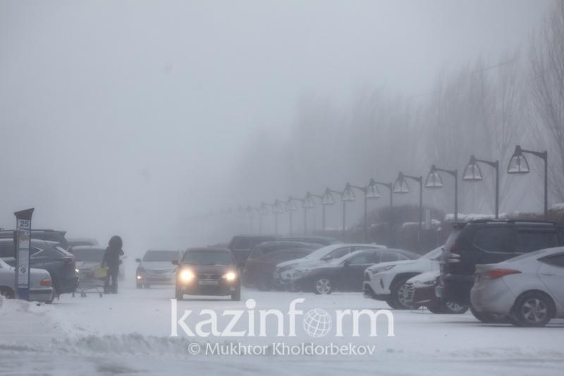 Переменную облачность и сильный ветер прогнозируют в Казахстане