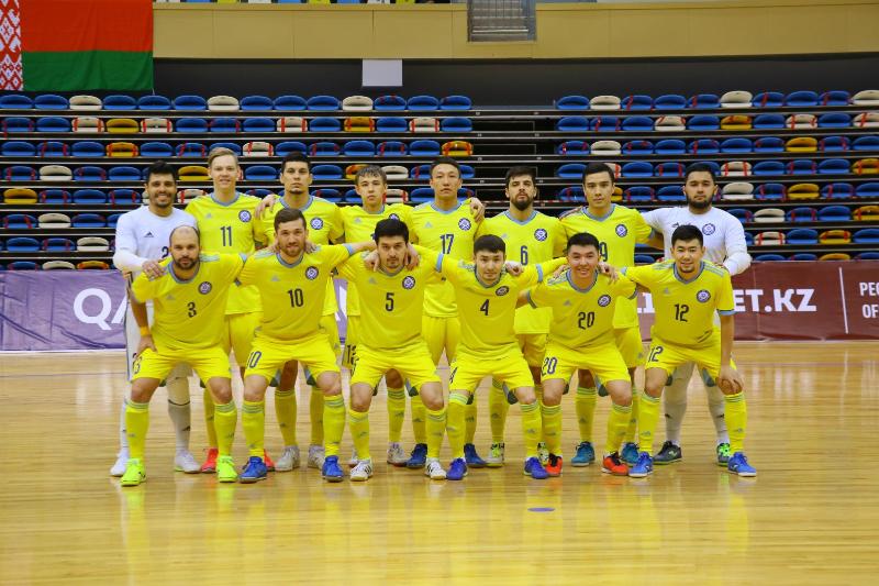 Сборная Казахстана по футзалу поднялась на третье место в рейтинге УЕФА