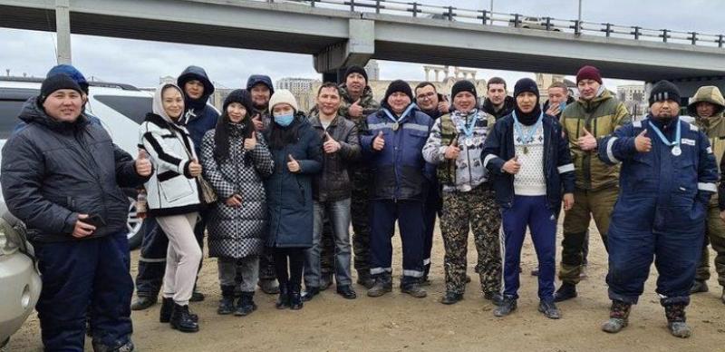 Благотворительный турнир по рыбалке устроили в Атырау
