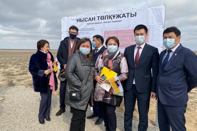 意大利跨国公司将在突厥斯坦州建设太阳能发电厂