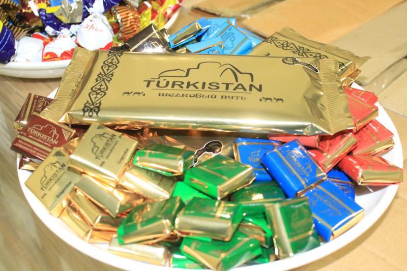 Шоколад «Turkistan» начали производить в Казахстане